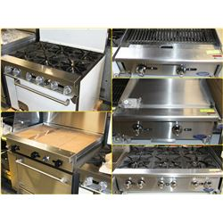 FEATURED ITEMS: GRILLS & FLAT TOPS GALORE!