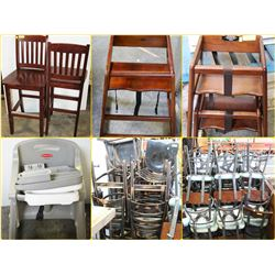 FEATURED ITEMS: CHAIRS FOR ALL AGES!