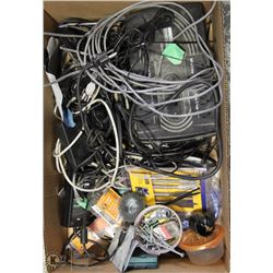 LOT OF ELECTRONICS + POWER SUPPLY & TOOLS