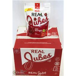 BOX OF RED JUBE-JUBES-12 BAGS/CASE