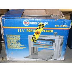"KING CANADA 12.5"" THICKNESS PLANER"