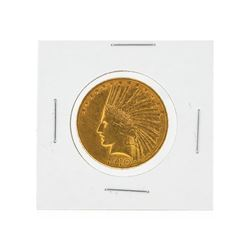 1910-D $10 AU Indian Head Eagle Gold Coin
