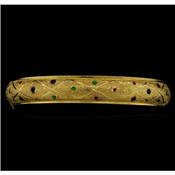 14KT Yellow Gold Bangle Bracelet