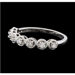 0.19 ctw Diamond Ring - 14KT White Gold