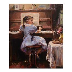 The Music Lesson by Garmash