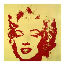 Golden Marilyn 11.40 by Warhol, Andy