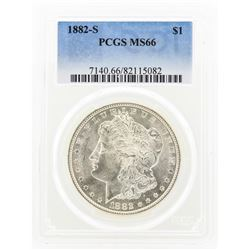 1882-S MS66 Morgan Silver Dollar