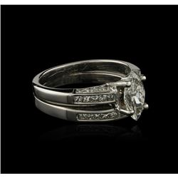 18KT White Gold 1.48 ctw Diamond Ring