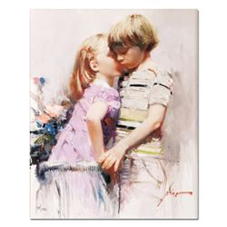 The Kiss by Pino (1939-2010)