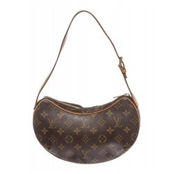 Louis Vuitton Monogram Canvas Leather Croissant PM Shoulder Bag