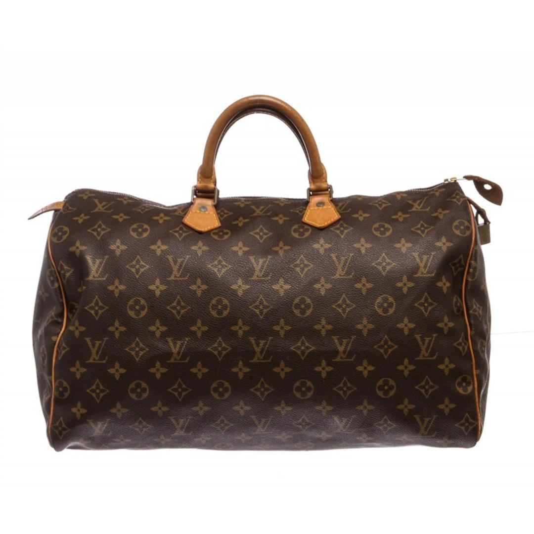 Louis Vuitton Monogram Canvas Leather Speedy Cm Bag - How to make an invoice in word louis vuitton online store