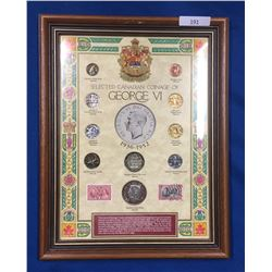 Canada George VI Coin Collection in Presentation Frame