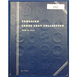 Canada Large Cent Collection 1859 - 1920 - Whitman Folder
