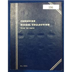 Canada Nickel Collection 1922 - 1960 - Whitman Folder