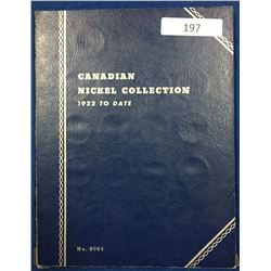 Canada Nickel Collection 1922 - 1961 - Whitman Folder