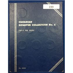 Canada Quarter Collection 1911 - 1952 - Whitman Folder