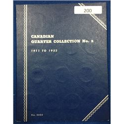 Canada Quarter Collection 1911 - 1952 - Whitman Folder #2
