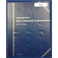 Canada Half Dollar Collection 1937 - 1960 - Whitman Folder #2