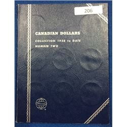 Canada Dollar Collection 1958-1981 - Whitman Folder