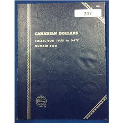 Canada Dollar Collection 1958-1981 - Whitman Folder #2