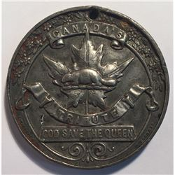 Canada's Tribute - God Save the Queen Medallion