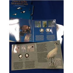 Canada 1995 50 Cents Birds of Canada Four Coin Set