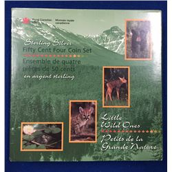 Canada 1996 50 Cents Little Wild Ones Coin Set