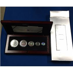 Canada 2003 Silver Hologram Maple Coin Set