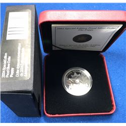 "Canada 2004 $1 ""The Poppy"" Armistice Day Commemorative Proof Silver Dollar Coin"