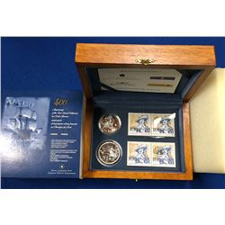 Canada 2004 400th Anniversary of the First French Settlement in North America Coin Set
