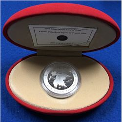 Canada 2005 $5 Maple Leaf of Hope 1 oz Silver Coin