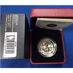 Canada 2013 $10 Twelve-Spotted Skimmer Fine Silver Coin