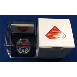 Canada 2013 $20 Superman Man of Steel Silver Coloured Coin