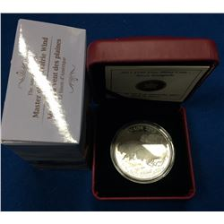 Canada 2013 $100 Bison 1oz Silver Coin #1 in the Series