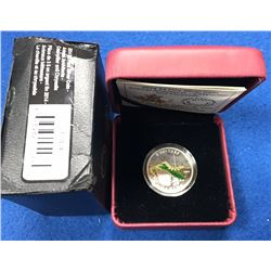 Canada 2014 $3 Animal Architects: Caterpillar and Chrysalis Pure Silver Coin