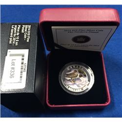 Canada 2014 $10 Pintail Duck Pure Silver Coin