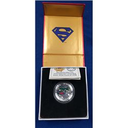 Canada 2014 $10 Iconic Superman Comic Book Covers Action Comics #1 from 1938 Coloured Silver Coin