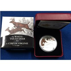 Canada 2014 $20 The White-Tailed Deer - Mates Silver Coin