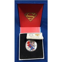 Canada 2014 $20 Iconic Superman Comic Book Covers: Superman Annual #1 from 2012 Coloured Silver Coin