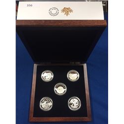 Oh Canada 2014 $25 Set. Includes 5 coins.