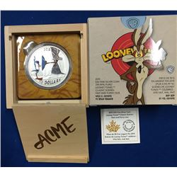 Canada 2015 $30 Looney Tunes™Classic Scenes: Fast and Furry-ous Silver Coin