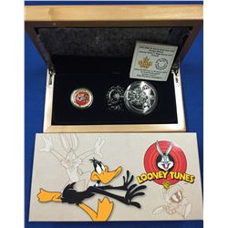 Canada 2015 $100 14-Karat Gold Coin & Pocket Watch - Looney Tunes - Bugs Bunny And Friends