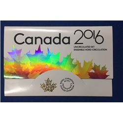 Canada 2016 PL Set with Error (2015 Loonie)