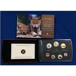 Canada 2012 Special Edition Specimen Coin Set - Wolf Cubs