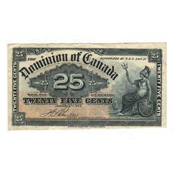 Dominion of Canada 1900 25 Cents