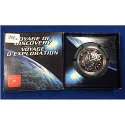 Canada 2000 $1 Voyage of Discovery BU Silver Dollar Coin