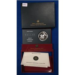 Canada 2006 $1 150th Anniversary of the Victoria Cross Proof Silver Dollar coin