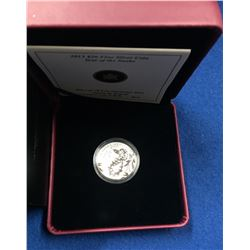 Canada 2013 $20 The Year of The Snake 1/4 Oz Silver Coin