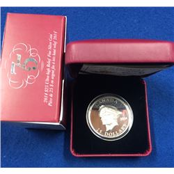Canada 2014 $25 75th Anniversary of the First Royal Visit Silver Coin