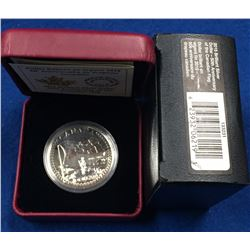 Canada 2015 $1 The 50th Anniversary of the Canadian Flag BU Silver Dollar Coin